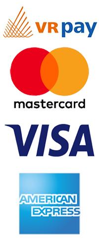 Zahlen mit Kreditkarte mit VR pay!