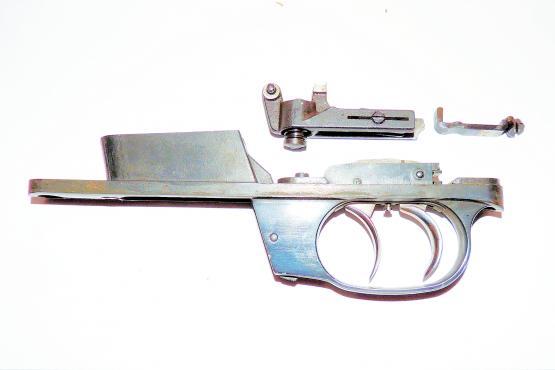 Stecher mit Magazinkasten Walther KKJ Kal. 22 Hornet